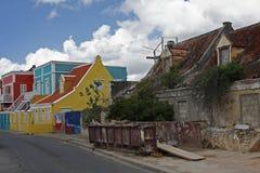 Vecchie e nuove case Fotografia Stock Libera da Diritti