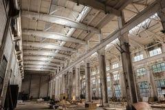 Vecchie fabbriche Fotografia Stock Libera da Diritti