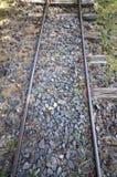 Vecchie ferrovie a scartamento ridotto Fotografia Stock