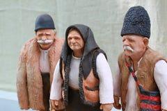 Vecchie figure dell'argilla Immagine Stock