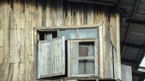 Vecchie finestre Fotografia Stock
