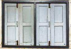 2 vecchie finestre Fotografia Stock Libera da Diritti