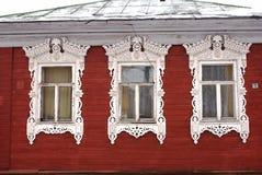 Vecchie finestre Fotografie Stock