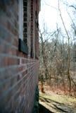 Vecchie finestre della costruzione Fotografia Stock