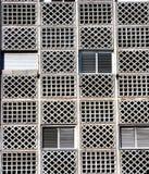 Vecchie finestre e barre Immagine Stock Libera da Diritti