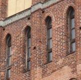 Vecchie finestre gotiche Fotografia Stock Libera da Diritti