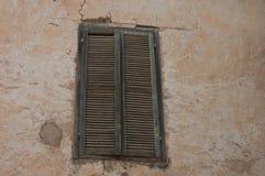Vecchie finestre marocchine di berberi Fotografie Stock Libere da Diritti