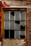 Vecchie finestre rotte Fotografie Stock Libere da Diritti