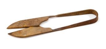 Vecchie forbici arrugginite Immagini Stock Libere da Diritti
