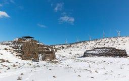Vecchie fortificazioni militari Fotografie Stock Libere da Diritti