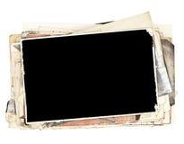Vecchie foto Fotografia Stock Libera da Diritti