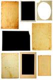 Vecchie foto dell'accumulazione Fotografie Stock