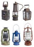 Vecchie lampade della benzina Immagine Stock