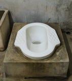 Vecchie latrine della Tailandia Fotografie Stock