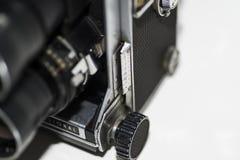 Vecchie lente e fotografia fotografia stock