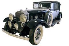 Vecchie limousine nere Immagine Stock