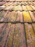 Vecchie mattonelle Fotografia Stock Libera da Diritti
