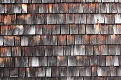 Vecchie mattonelle di legno Immagine Stock