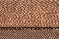 Vecchie mattonelle di tetto dell'assicella Immagine Stock Libera da Diritti