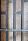 in vecchie mattonelle e nell'estratto ceramico colorated Immagine Stock Libera da Diritti