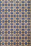 Vecchie mattonelle portoghesi Fotografia Stock Libera da Diritti