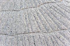 Vecchie mattonelle a strisce orientali - marmo classico del travertino fotografia stock libera da diritti