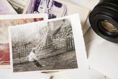 Vecchie memorie di fotografia Fotografia Stock