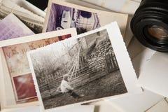 Vecchie memorie di fotografia Fotografia Stock Libera da Diritti