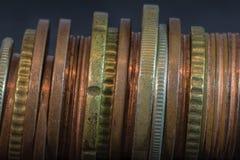 Vecchie monete Immagine Stock