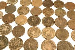Vecchie monete russe Immagini Stock Libere da Diritti
