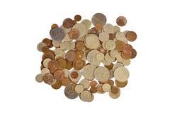 Vecchie monete sovietiche Immagini Stock Libere da Diritti