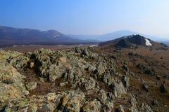 Vecchie montagne Immagini Stock