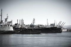 Vecchie navi Fotografia Stock