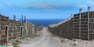 Vecchie pareti di pietra Immagine Stock Libera da Diritti