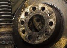 Vecchie parti dell'automobile Fotografie Stock Libere da Diritti