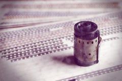 Vecchie pellicole Fotografia Stock