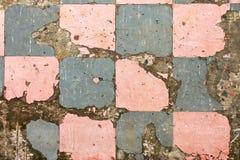 Vecchie piastrelle per pavimento Immagini Stock Libere da Diritti