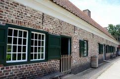 Vecchie piccole case Fotografia Stock Libera da Diritti