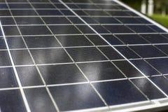 vecchie pile solari Fotografie Stock