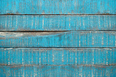 Vecchie plance blu del parquet Fotografia Stock