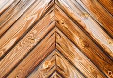 Vecchie plance del larice Fotografia Stock Libera da Diritti