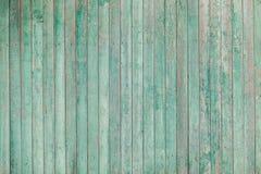 Vecchie plance di legno con pittura incrinata Immagine Stock