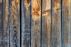Vecchie plance di legno misere in caldo e nei colori freddi Fine in su fotografie stock libere da diritti