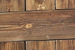 Vecchie plance di legno resinose Fotografia Stock