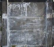 Vecchie plance wheathered di legno con i graffi Fotografia Stock Libera da Diritti