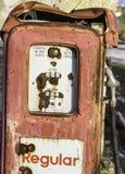 Vecchie pompe del combustibile Fotografia Stock
