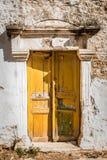 Vecchie porte della costruzione antica Fotografie Stock