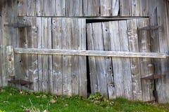 Vecchie porte di granaio Immagine Stock Libera da Diritti