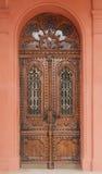 Vecchie porte di legno Fotografie Stock