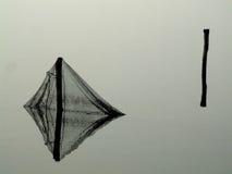 Vecchie reti da pesca Immagini Stock